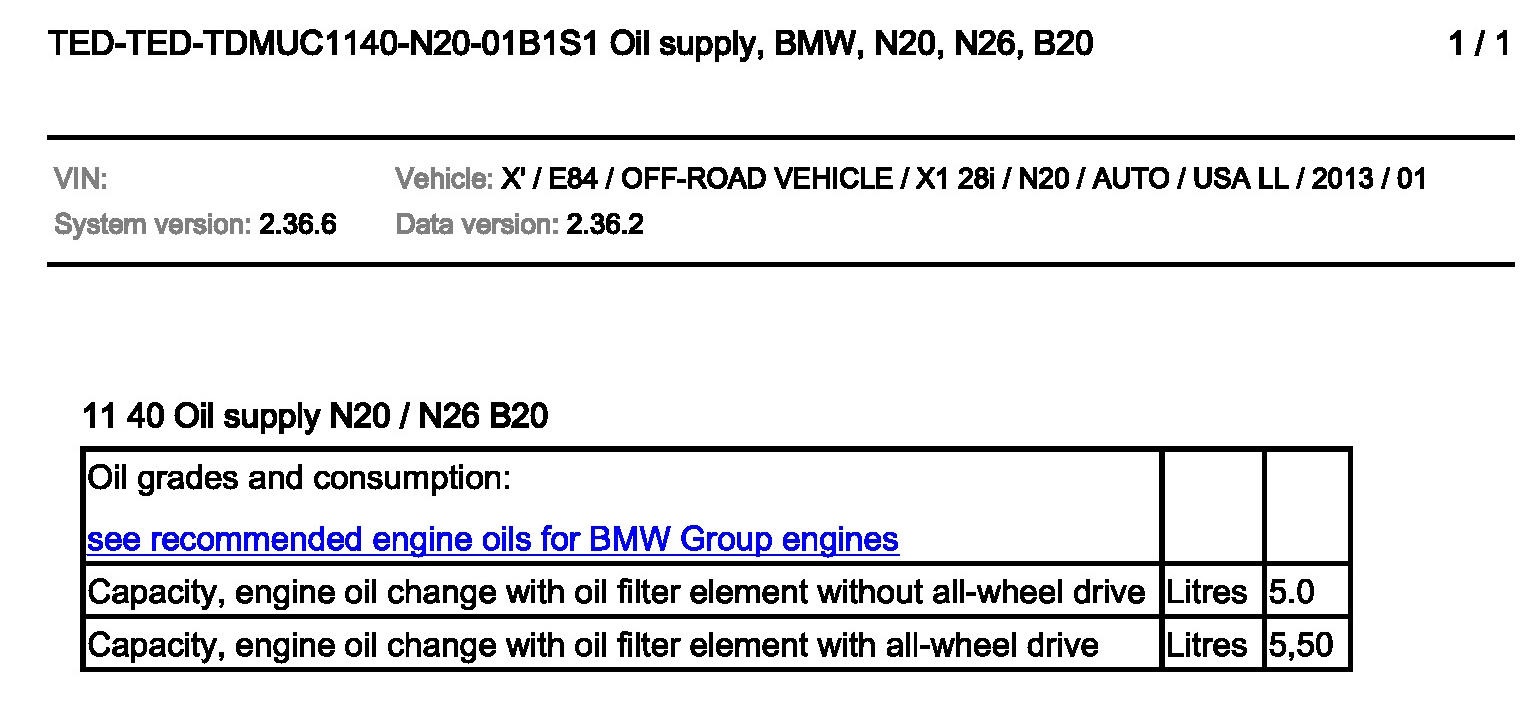 20t Engline Oil Capacity Bmw 325i Drain Plug Location Attached Images