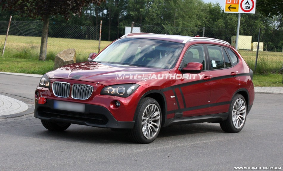 New Pics Of Red Bmw X1 Color