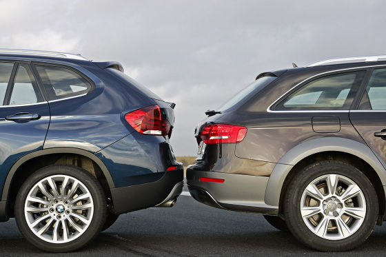 Photoshoot: X1 versus A4 Allroad Touring