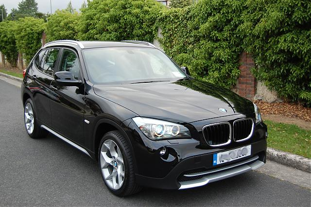 Collected The X - Black bmw x1