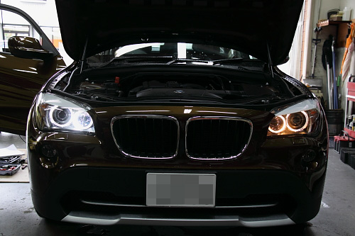 did bmw upgrade to led drl halo rings with lci