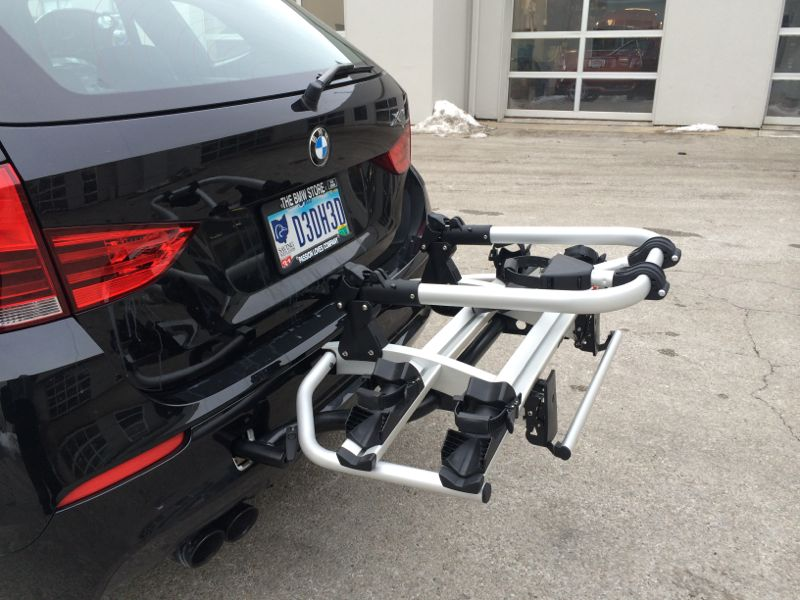 Used Tire Places >> BMW X1 Rear Bike Rack