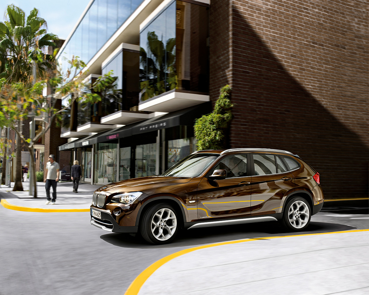 Bmw X1 Hd Wallpapers Bmw Cars Amp Bikes